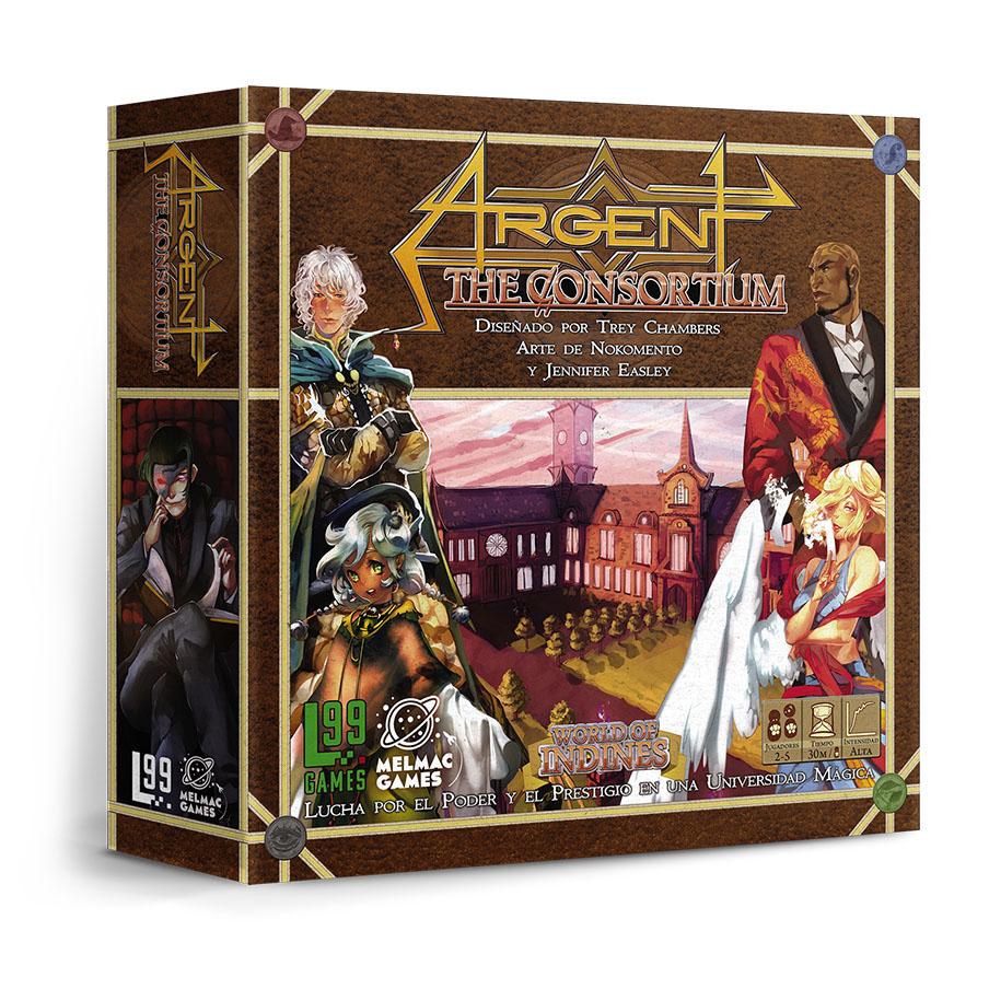Juego de mesa. Argent: The Consortium. Melmac Games