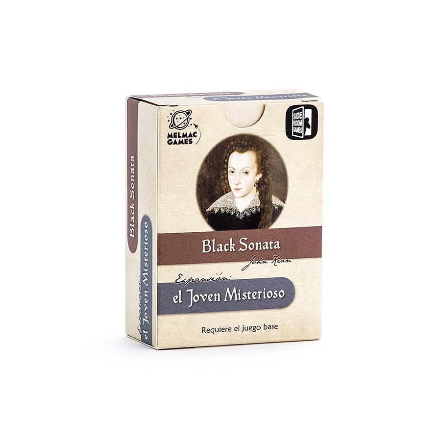 Juego de mesa. Black Sonata: El joven misterioso. Melmac Games