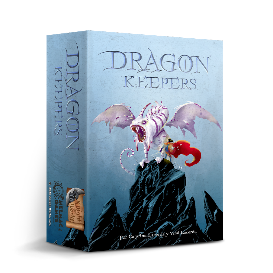 Juego de mesa. Dragon Keepers. Melmac Games